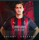 Isyarat Pertama Diogo Dalot Minta Dipermanenkan AC Milan