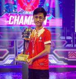 Player PUBG Mobile Bigetron Red Aliens, Zuxxy, Raih Penghargaan Atlet Esport Terbaik Tahun Ini