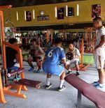 Tingkatkan Kekuatan dan Daya Tahan, Pemain Futsal Academy Anima 17 Berlatih di Gym