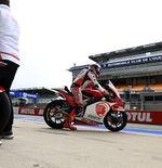 Moto2: Andi Gilang Gagal Finis di GP Prancis Gegara Dipepet Pembalap Lain