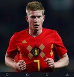 Belum Pulih, Kevin De Bruyne Bakal Absen di Laga Pembuka Piala Eropa 2020