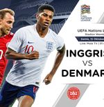 Link Live Streaming UEFA Nations League: Inggris vs Denmark