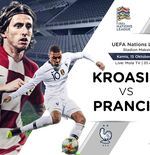 Link Live Streaming UEFA Nations League: Kroasia vs Prancis