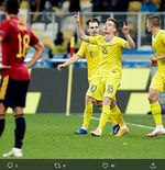 Pencetak Gol Kemenangan Ukraina Ungkap Cara Kalahkan Spanyol