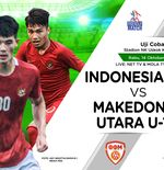 Link Live Streaming Timnas U-19 Indonesia vs Makedonia Utara, Kick-off Malam Nanti