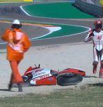 Hasil FP2 Moto2 GP Aragon 2020:  Crash, Andi Gilang Bercokol di Peringkat ke-28