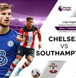 Link Live Streaming Chelsea vs Southampton di Liga Inggris