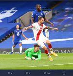5 Catatan Laga Chelsea vs Southampton: Kepa Merana, Walcott Bahagia