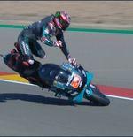 Hasil FP3 MotoGP Aragon 2020: Yamaha Belum Tertandingi meski Fabio Quartararo Mengalami Crash