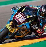 Hasil Kualifikasi Moto2 GP Aragon 2020: Sam Lowes Raih Pole Position, Andi Gilang Crash Lagi