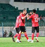 Bruno Lopes Angkat Bicara Usai Borong Tiga Gol ke Gawang Arema FC