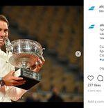 Kisah Rafael Nadal dan Kebiasaan Gigit Trofi yang Jadi Masalah