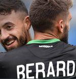 Hasil Bologna vs Sassuolo:  Pesta 7 Gol, I Neroverdi Tempel AC Milan