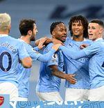 Hasil Manchester City vs Arsenal: Raheem Sterling Kunci 3 Poin Pertama di Kandang