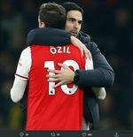 Meski Hengkang, Mikel Arteta Yakin Jasa Mesut Ozil Tak Akan Dilupakan Arsenal