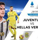 Susunan Pemain Liga Italia: Juventus vs Hellas Verona