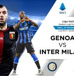 Link Live Streaming Liga Italia: Genoa vs Inter Milan