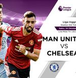 Link Live Streaming Manchester United vs Chelsea di Liga Inggris