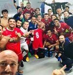 Mantan Striker Persipura Jadi Pahlawan Kemenangan Klub Malta
