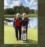 Berbeda dengan Atlet Amerika Kebanyakan, Legenda Golf Ini Dukung Donald Trump