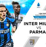 Link Live Streaming Liga Italia: Inter Milan vs Parma