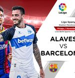 Link Live Streaming Alaves vs Barcelona di Liga Spanyol