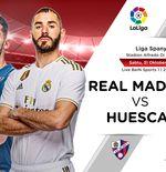 Susunan Pemain Liga Spanyol: Real Madrid vs Huesca