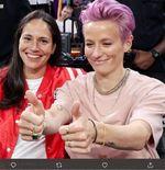 Pasangan Atlet LGBT Sue Bird dan Megan Rapinoe Bertunangan