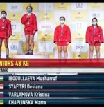 Desiana Syahfitri Harumkan Indonesia di Kejuaraan Dunia Sambo