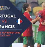 Link Live Streaming UEFA Nations League: Portugal vs Prancis