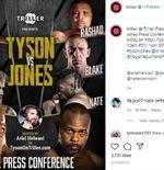 Comeback Mike Tyson Turut Diwarnai Duel Mantan Bintang NBA vs Youtuber