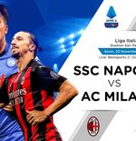 Link Live Streaming Liga Italia: Napoli vs AC Milan