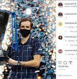 Juara ATP Finals 2020, Daniil Medvedev Kewalahan Balas Ucapan Selamat