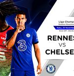Link Live Streaming Rennes vs Chelsea di Liga Champions