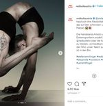 VIDEO: Aksi Akrobatik Ekstrem Si Manusia Karet Stefanie Millinger yang Bikin Kagum