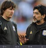 Pelatih Benfica: Jika Dibandingkan dengan Maradona, Lionel Messi Bukan Apa-apa