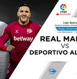 Link Live Streaming Real Madrid vs Deportivo Alaves di Liga Spanyol