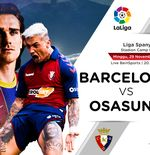 Link Live Streaming Liga Spanyol: Barcelona vs Osasuna