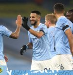 Fakta-fakta ''Spesial'' Hattrick Riyad Mahrez di Laga Manchester City vs Burnley
