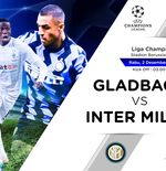 Link Live Streaming Liga Champions: Borussia Monchengladbach vs Inter Milan