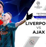 Prediksi Liga Champions: Liverpool vs Ajax Amsterdam