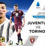 Link Live Streaming Liga Italia: Juventus vs Torino