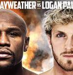 Resmi, Floyd Mayweather Jr dan Logan Paul Tanding 6 Juni 2021