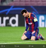 Hasil Liga Champions: Barcelona Tumbang di Kandang, Cristiano Ronaldo Borong 2 Penalti