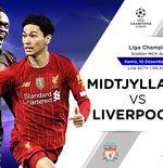 Prediksi Liga Champions: FC Midtjylland vs Liverpool