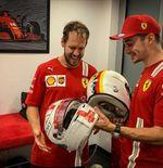 Charles Leclerc Banyak Belajar dari Sebastian Vettel