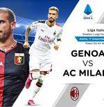 Link Live Streaming Liga Italia: Genoa vs AC Milan