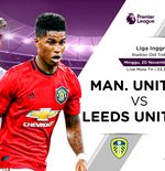 Link Live Streaming Liga Inggris: Manchester United vs Leeds United