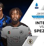 Link Live Streaming Inter Milan vs Spezia di Liga Italia