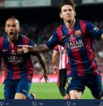 VIDEO: Kilas Balik Barcelona vs Atletico Madrid - Tendangan Roket Dani Alves